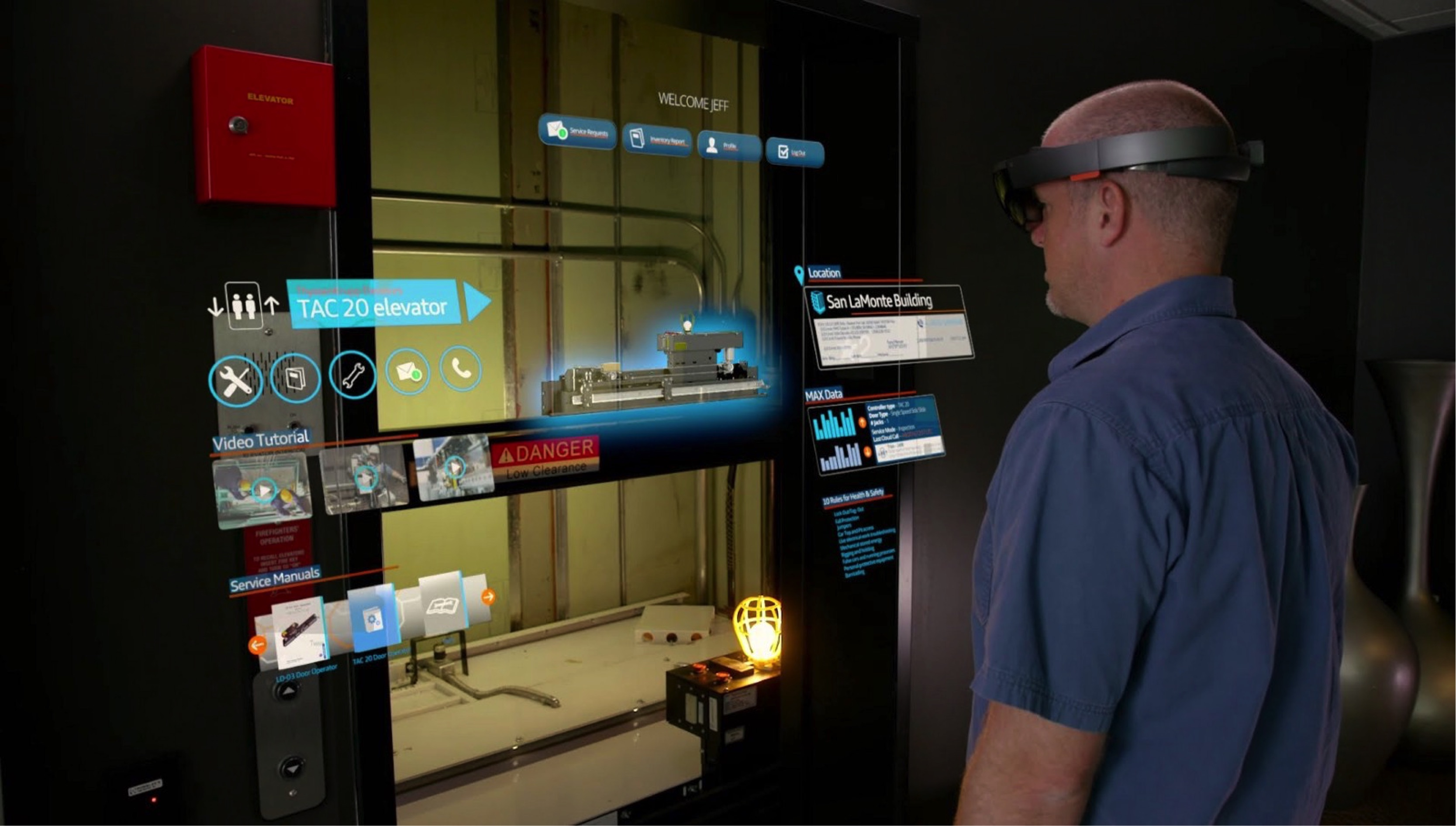 HoloLens for Repair and Maintenance